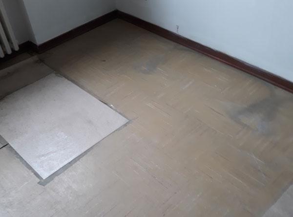 Pavimentazione in amianto
