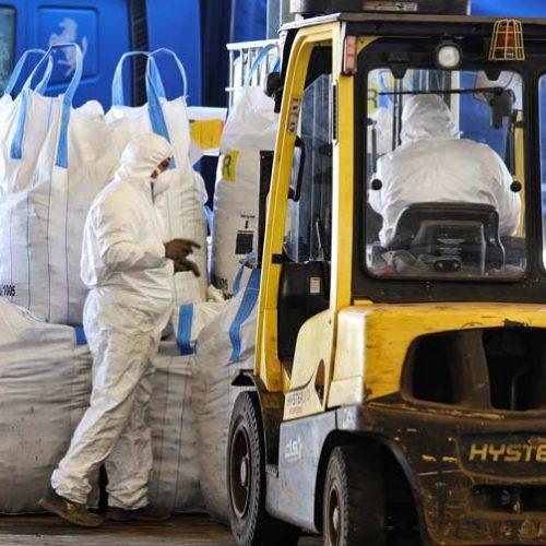 Rimozione amianto da industrie